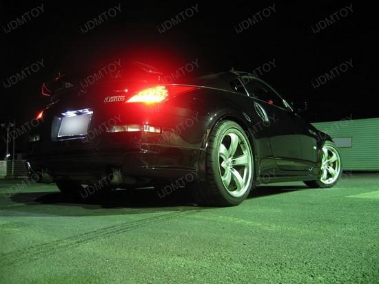 Nissan - 350Z - 168 - LED - license - plate - lights - 3